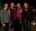 Daniel Radcliffe with some fans in Half Moon Bay (Fb.com/DanieljacobRadcliffeFanClub) - daniel-radcliffe photo