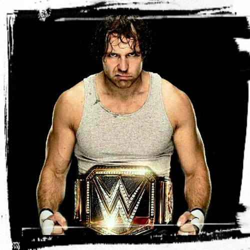 WWE 바탕화면 possibly containing a sign called Dean ambrose