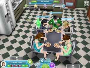 रात का खाना party!
