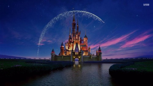 Disney kertas dinding probably with a mata air, air pancut entitled Disney istana, castle