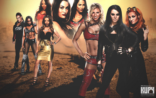 WWE 바탕화면 entitled Divas Revolution
