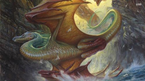 龙 壁纸 titled Dragon