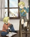 Ed, Al Winry - full-metal-alchemist fan art