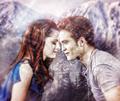 Edward and Bella  - twilight-series fan art