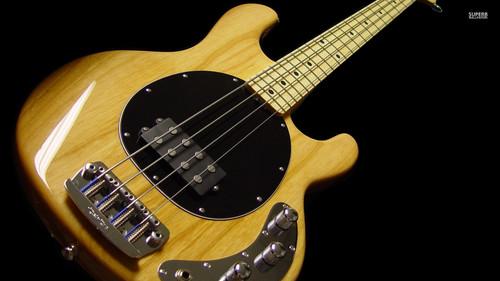 Heavy Metal karatasi la kupamba ukuta called Electric guitar, gitaa