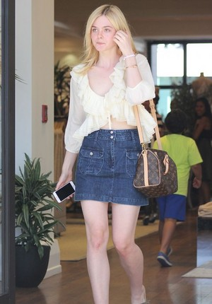 Elle in Beverly Hills