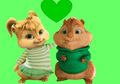 Ellie and Theo  - alvin-and-the-chipmunks fan art