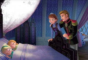 Elsa, Anna and their Parents