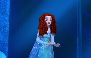 Elsa With Merida's Hair