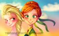 Elsa and Anna - elsa-and-anna fan art