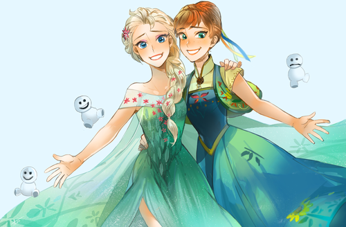Frozen immagini elsa and anna hd wallpaper and background - Fever wallpaper hd ...