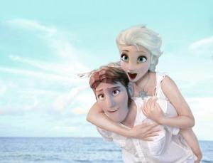Elsa and Hans in summer