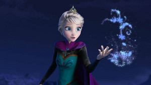 Elsa doing Magic