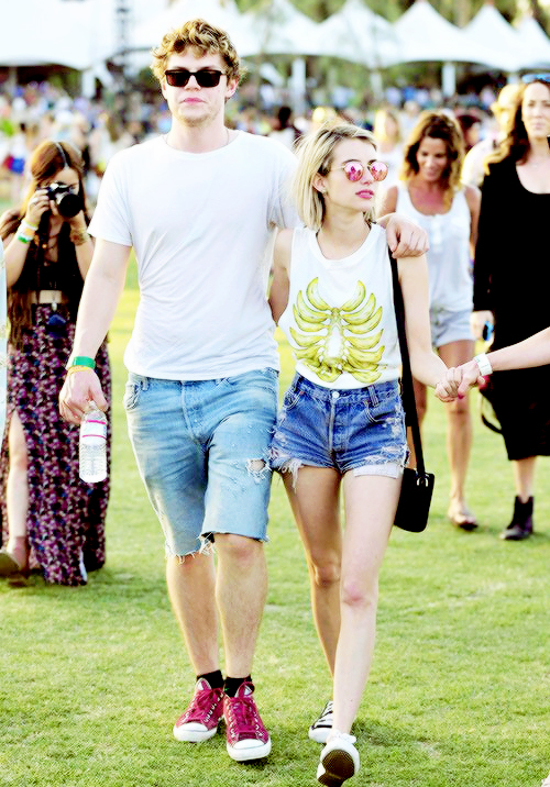 Emma roberts and evan peters movie together