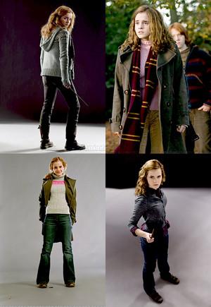 Emma as Hermione