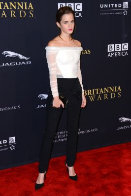 Emma at BAFTA Los Angeles