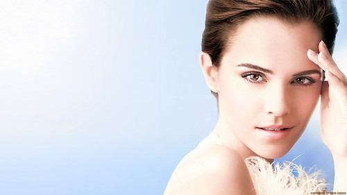 Emma Watson Hintergrund with a portrait titled Emma