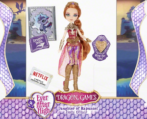 Ever After High Dragon Games 冬青, 冬青树 O'Hair doll