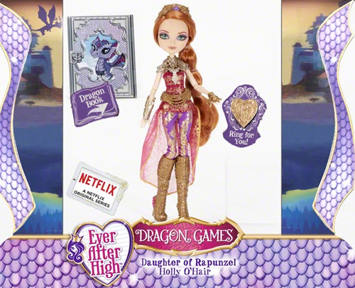 Even After High Hintergrund titled Ever After High Dragon Games stechpalme, holly O'Hair doll