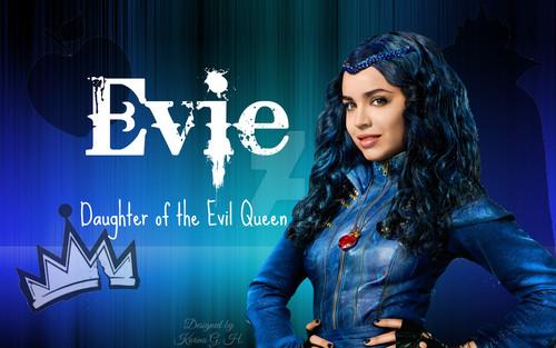 Descendants Hintergrund titled Evie