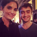 "Exclusive: Daniel Radcliffe & Erin Darke was At ""Cafe firenze"" (FB.com/DanielJacobRadcliffefanClub) - daniel-radcliffe photo"