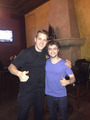 "Exclusive: Daniel Radcliffe with a fan At ""Cafe firenze"" (Fb.com/DanielJacobRadcliffeFanClub) - daniel-radcliffe photo"