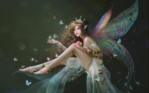 Fantasy Hintergrund entitled Fairy