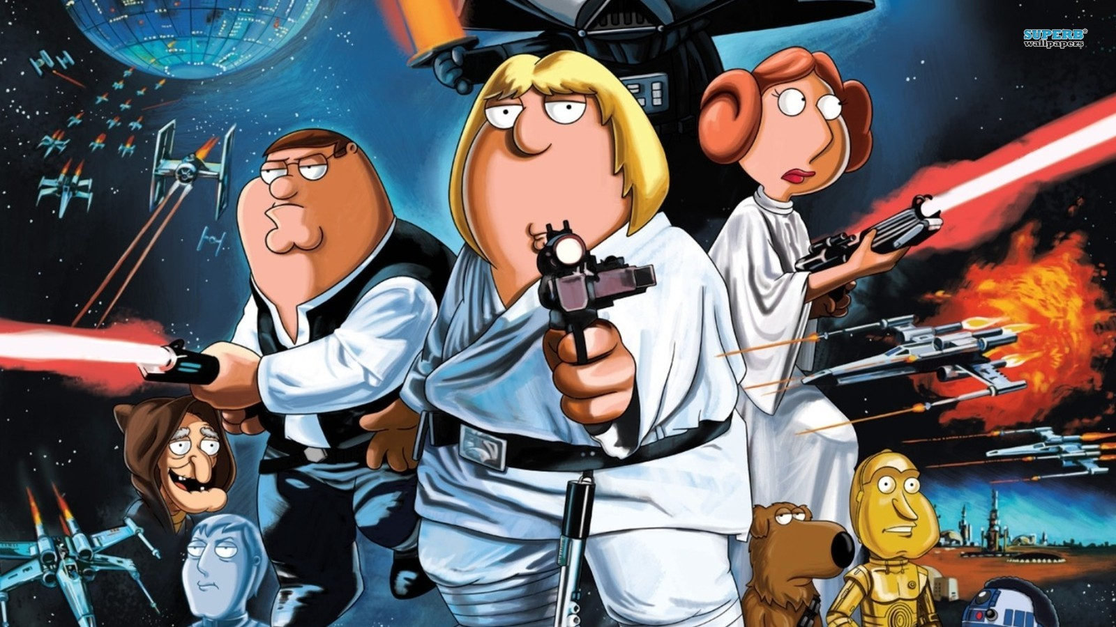 Family Guy Images Star Wars HD Wallpaper And Background Photos