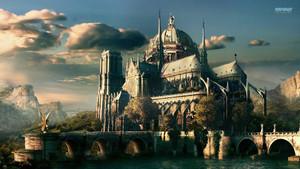 fantasi kastil, castle