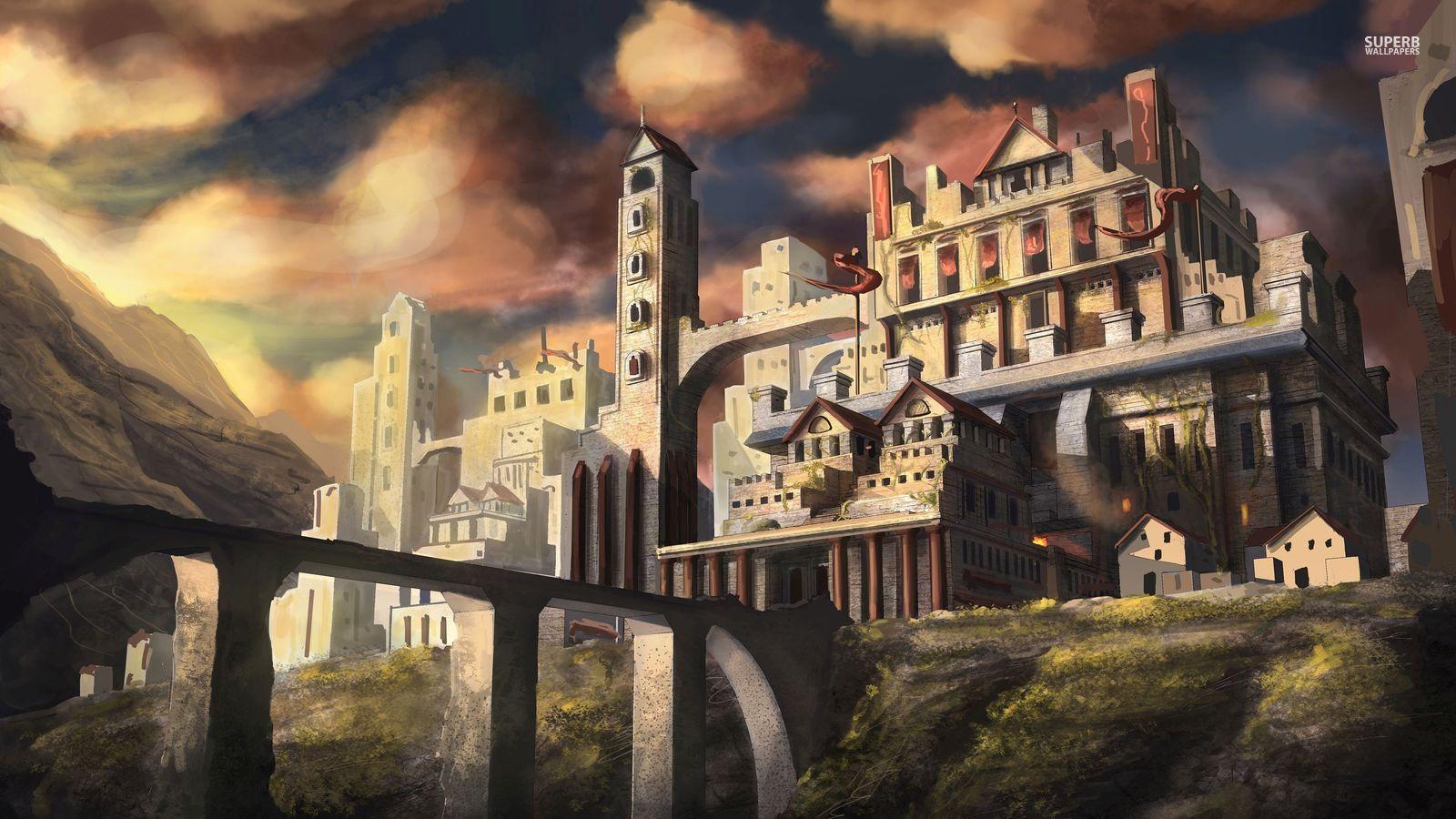 magic castle fantasy world - photo #33