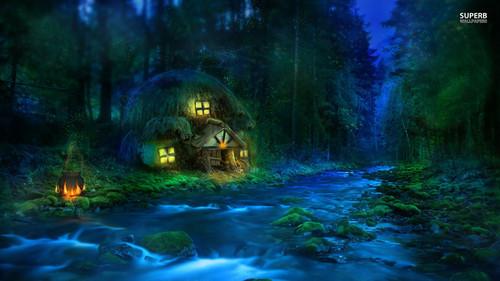 Fantasy wallpaper titled Fantasy Land