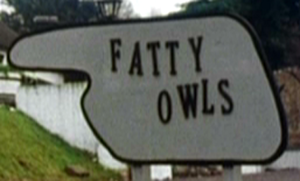 Fawlty Towers Sign Gag