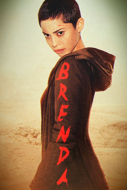 Fierce looking Brenda