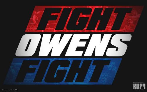 WWE wallpaper probably containing anime titled Fight Owens Fight