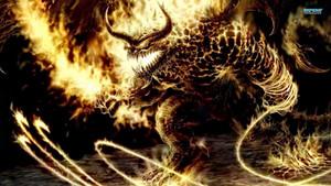 api, kebakaran Monster