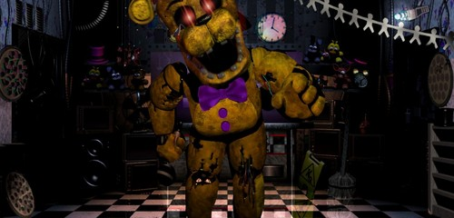 Five Nights at Freddy's پیپر وال entitled Fredbear