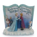 Frozen - Act of Love Story Book Figurine by Jim Shore - frozen photo