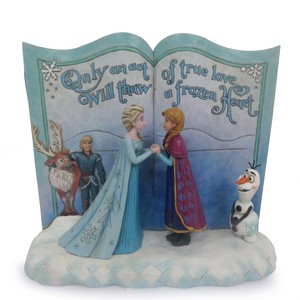 Frozen - Act of Love Story Book Figurine door Jim kust-, oever