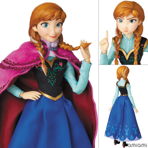 Frozen kertas dinding possibly with a kirtle titled Frozen - Anna Figurine