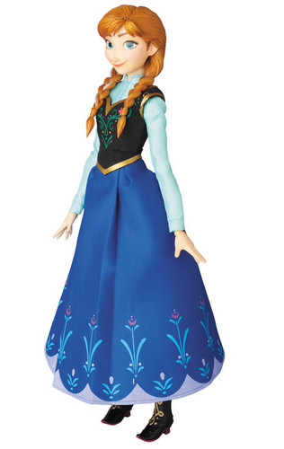 Frozen wallpaper possibly with a polonaise called Frozen - Anna Figurine
