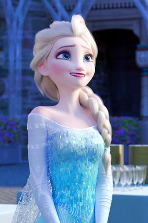 Frozen Fever Elsa Phone kertas dinding