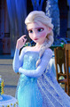 Frozen Fever Elsa Phone پیپر وال