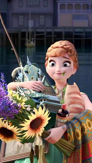 アナと雪の女王 Fever Phone 壁紙