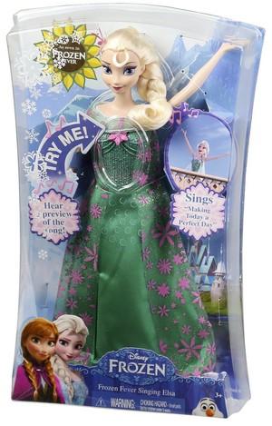 Frozen Fever Singing Elsa Doll