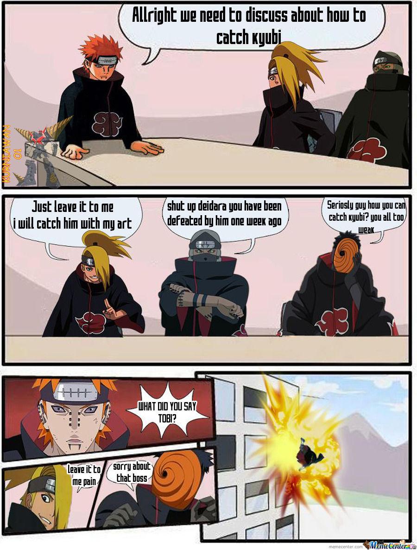 Funny Akatsuki Meeting