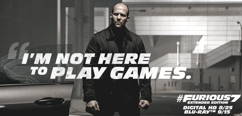 fast and furious wallpaper called Furious 7 - Deckard Shaw