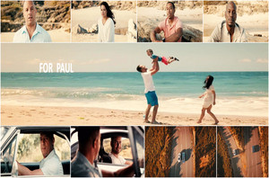 Furious 7...for Paul tribute