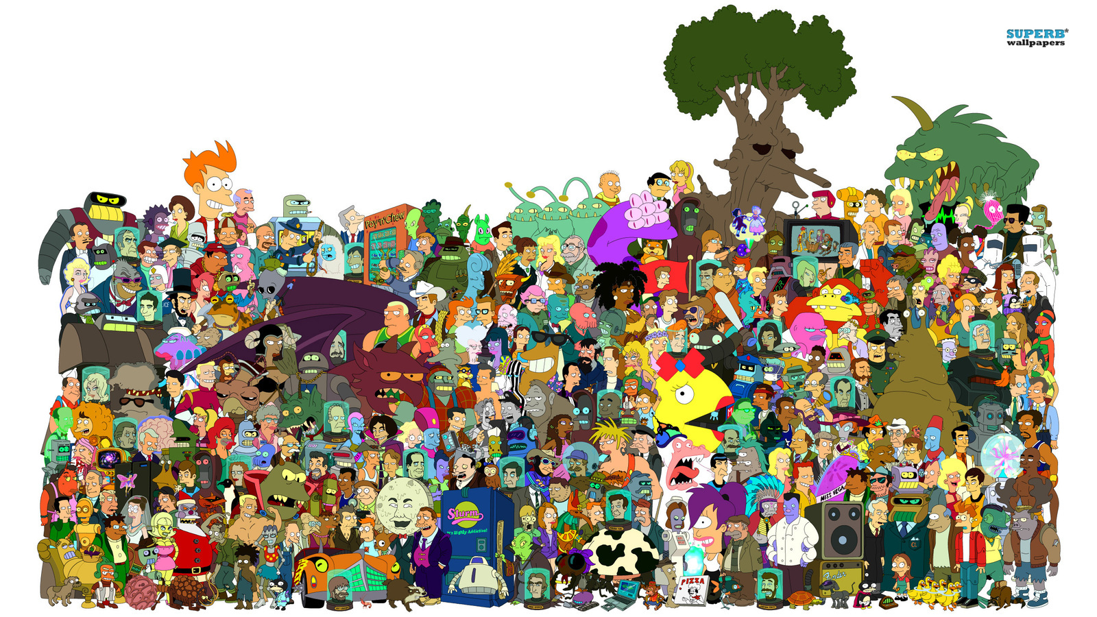 desenhos animados futurama