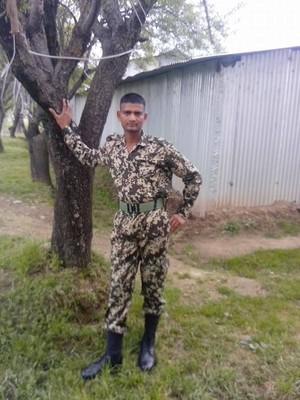 GAURAV TYAGI BSF