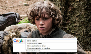 Game of Thrones characters and 구글